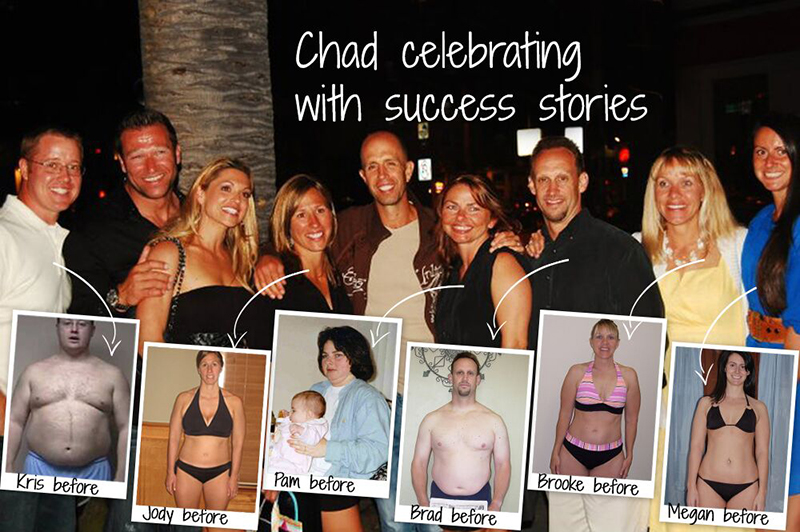 Chad with Clients